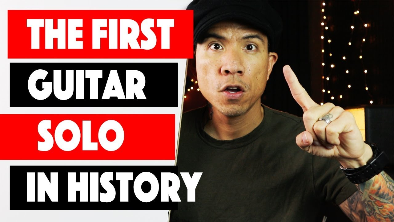 The First Electric Guitar Solo Ever Recorded | Guitar Lesson + TAB | by RJ Ronquillo