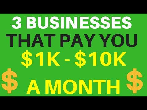 3 Online Businesses You Can Start That Pay You Between $1k - $10k A Month With $0 Upfront Cost