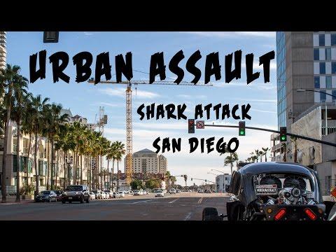 OffRoad-autolla pitkin kaupunkia! – URBAN ASSAULT: San Diego Shark Attack