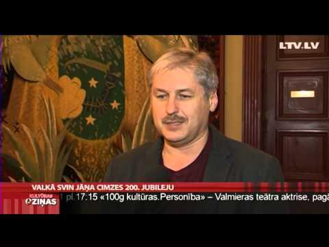 Valkā svin Jāņa Cimzes 200. jubileju (Video)