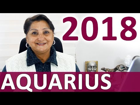 Aquarius 2018 Astrology Predictions: Successful Year Ahead But Fraught With Change And Drama