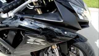 10. 2009 Suzuki GSXR600 Black Overview Review Walk Around
