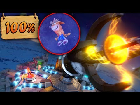 N Sane Trilogy Crash Bandicoot 2: 100%, FAKE CRASH, FINAL ALTERNATIVO & TODAS LAS GEMAS!