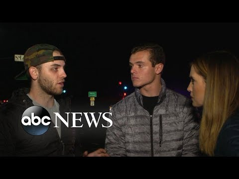 Bar shooting survivors recount horror