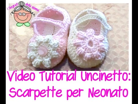 come si fanno le scarpine neonato