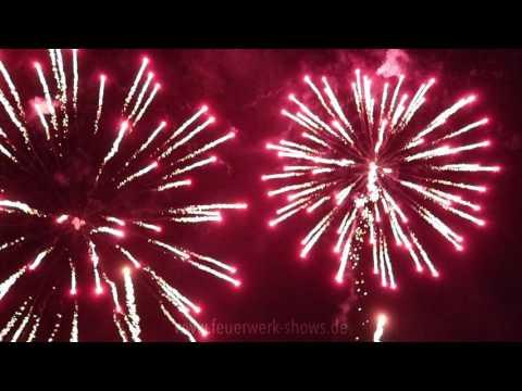 Feuerwerk zum 60. Geburtstag beim Hotel Teikyo am 14.04.2017