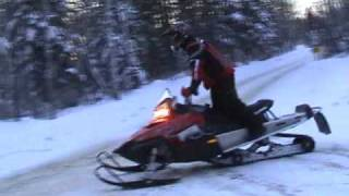 4. 2008 Polaris Switchback 700 Dragon