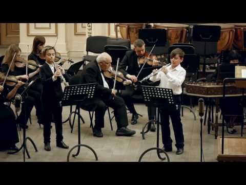 Томазо Джованні Альбіноні. КОНЦЕРТ № 9 для двох гобоїв з оркестром До мажор