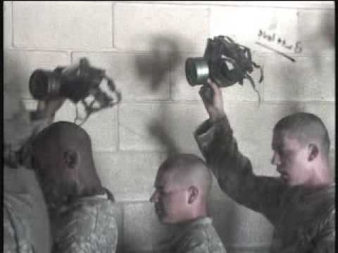 Ft. Leonard Wood Basic Training Gas Chamber, from the inside