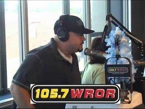 Comedian Robert Kelly on The Loren & Wally Morning Show