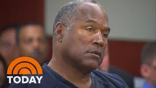 Former NFL star O.J. Simpson has been in a Nevada prison since 2008 in connection with an armed robbery of two men with O.J. ...