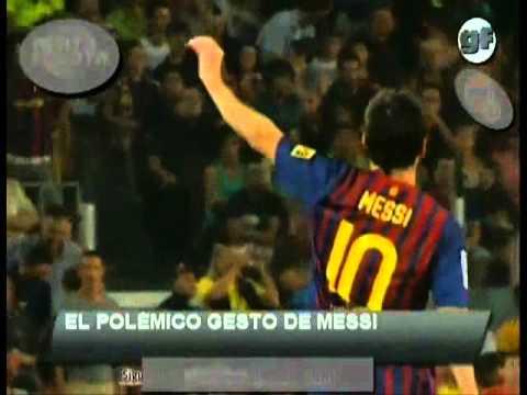 Messi vs mourinho belbala fcbarcelona (видео)
