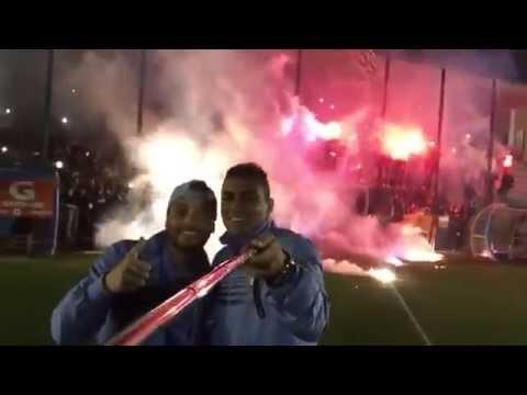 la festa dei tifosi dopo napoli-lazio 0-1 video di mauricio e anderson