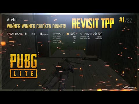 TPP Is Not That Bad | PUBG Lite PC Indonesia Gameplay