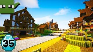 Transform a Minecraft Village into a Town E35