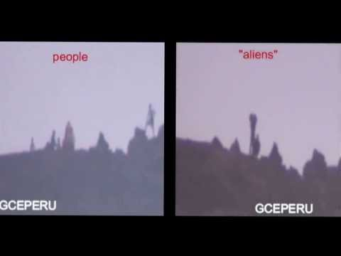 NEW Alien caught on tape humanoid 2014