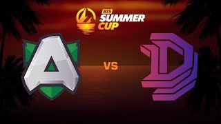 Alliance против Double Dimension, Вторая карта, BTS Summer Cup
