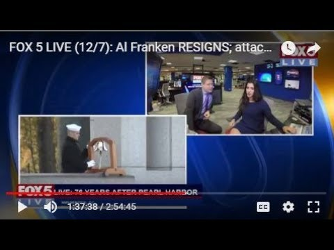 FOX 5 LIVE (12/7): Al Franken RESIGNS; attack on Pearl Harbor remembered after 76 years