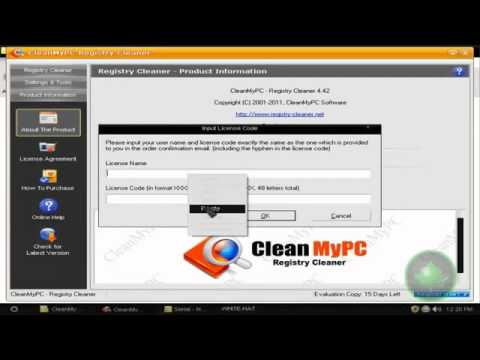 CleanMyPC Registry Cleaner free download  (working for me)