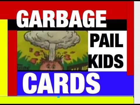 Garbage Pail Kids 80s Memories Topps Cards Funny Video Review by Mike Mozart of JeepersMedia