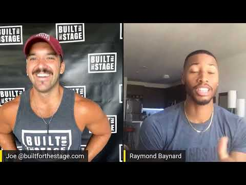 Hamilton's Raymond Baynard Joins Motivation Monday With Built for the Stage September 21