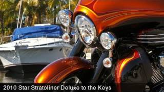 8. MotoUSA 2010 Star Stratoliner Deluxes to Key West