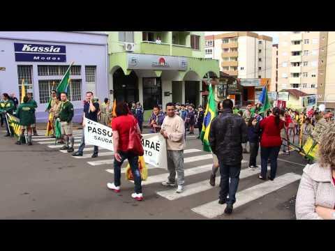 Desfile de 7 de Setembro em Passo Fundo - Viaturas HD