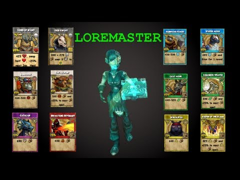 Wizard101: The Loremaster: