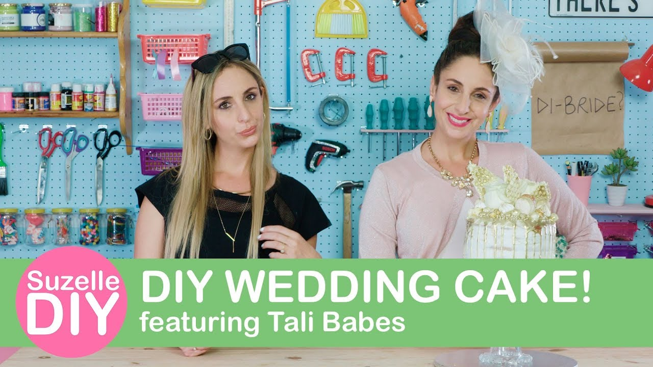 How to Make a DIY Wedding Cake (featuring Tali Babes)-graphic