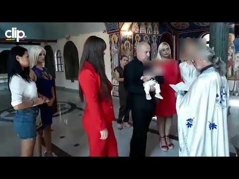 Miljana Kulić krstila sina Željka u crkvi – video