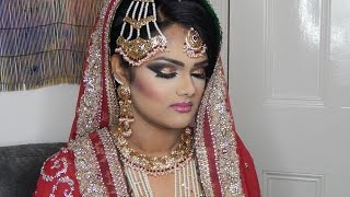 hi i use light foundation intentionally as it was a complete makeover, i haven't put on her neck as i had outfit for only filming and do not want to make it dirty with foundation.JEWELRY:    http://www.ebay.co.uk/itm/Indian-Pakistani-jewellery-set-party-bridal-Bollywood-asian-costume-wedding-set-/322045581263?hash=item4afb6997cf:g:2SEAAOSwQYZW03ml