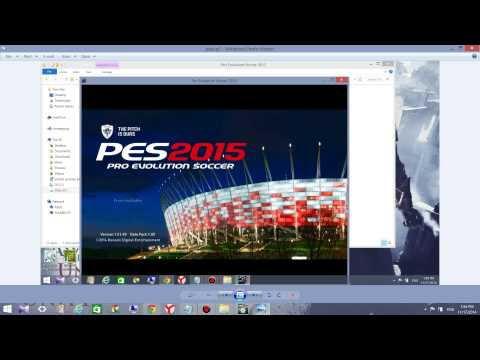 How To Fix The Screen Resolution and The Ratio of PES 2015/2016