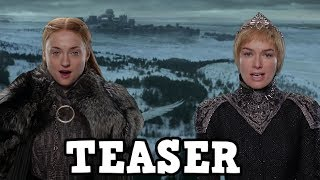 More Game of Thrones Season 7 footage has been released in this teaser trailer. We have new footage of Jon Snow Beyond The Wall, Sansa Stark in Winterfell and Cersei Lannister ina Wintery King's Landing. In thsi video I break down the new footage but there will be spoilers.Source - https://www.youtube.com/watch?v=29Bhc9eUTQU