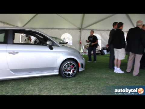 2013 FIAT 500 Turbo Revealed at the 2012 Concorso Italiano