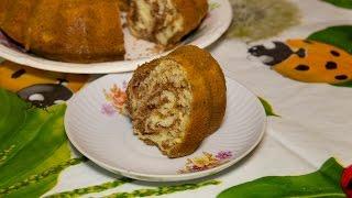 Как готовить пирог Зебра на сметане без молока и разрыхлителя
