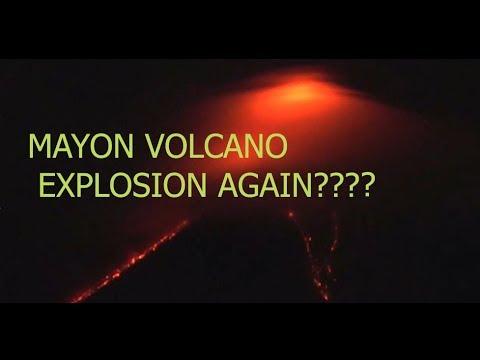 Το ηφαίστειο Mayon στις Φιλιππίνες «ξύπνησε» και δείχνει την οργή του