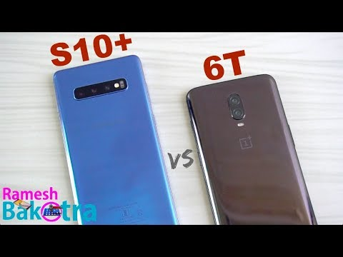 Samsung Galaxy S10 Plus vs OnePlus 6T SpeedTest and Camera Comparison - Thời lượng: 5 phút, 28 giây.