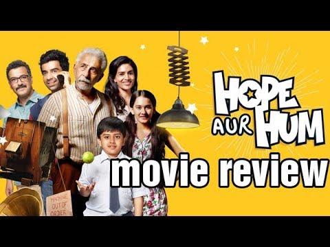 Movie Review Of Hope Aur Hum | Naseeruddin Shah, Sonali Kulkarni | Bollywood Buzz