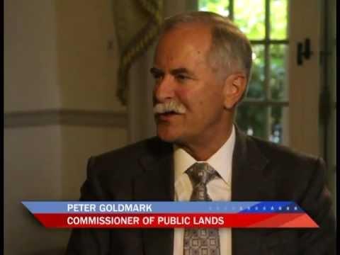 Peter Goldmark, Commissioner, Dept. of Natural Resources