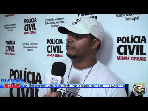 POLICIA CIVIL MG PRENDE ACUSADOS DE HOMICÍDIO EM GUIRICEMA MG