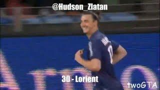 Zlatan Ibrahimovic´ 30 Treffer in der Saison 2012/13