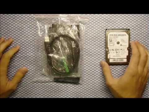 How to make Internal hard drive External - 2.5 SATA External Case (HDD Enclosure)