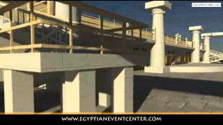 Egyptian Event Center Viz