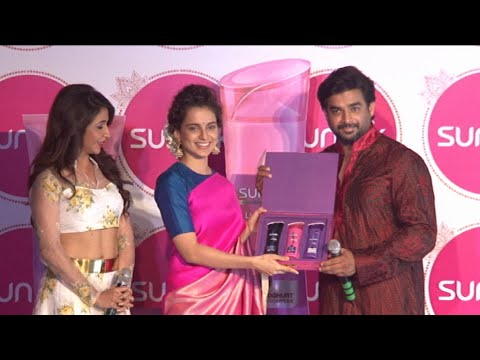 Kangana Ranaut & R Madhavan At Sangeet Ceremony Of Tanu Weds Manu Return With Sunsilk