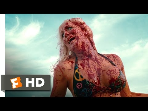 Piranha 3D (7/9) Movie CLIP - Crimson Tide (2010) HD