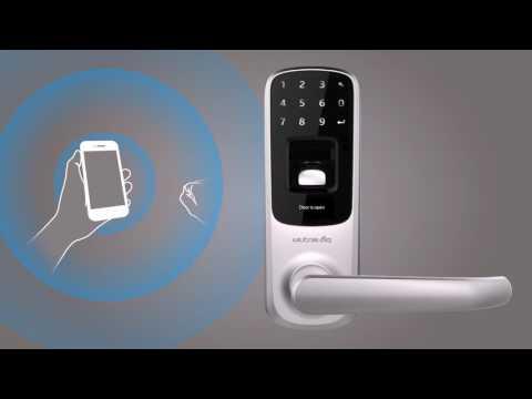 Ultraloq UL3 BT Bluetooth Enabled Fingerprint and Touchscreen Smart Lever Lock - on eBags.com