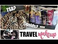 Travel Makeup & Toiletries | What I Packed | TSA