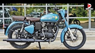 7. Royal Enfield Classic 350 ABS Signals Edition First Ride Review #Bikes@Dinos