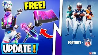 *NEW* Fortnite Update! | HARD Free Rewards Challenge, Superbowl Event, Ninja $30 Million!