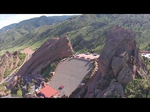 Red Rocks Amphitheater | 4K Drone Footage (MUST SEE)